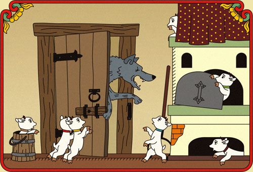 Keep a wolf from the door & Keep a wolf from the door | Confessions of the Linguistic Spy